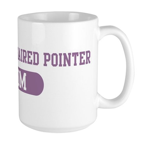 German Wirehaired Pointer Mom Large Mug