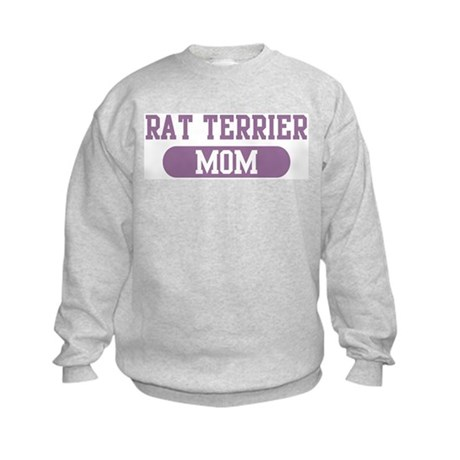 Rat Terrier Mom Kids Sweatshirt