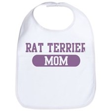 Rat Terrier Mom Bib