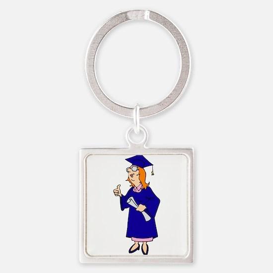 Thumbs Up Graduate Keychains