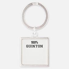 100% QUINTON Keychains