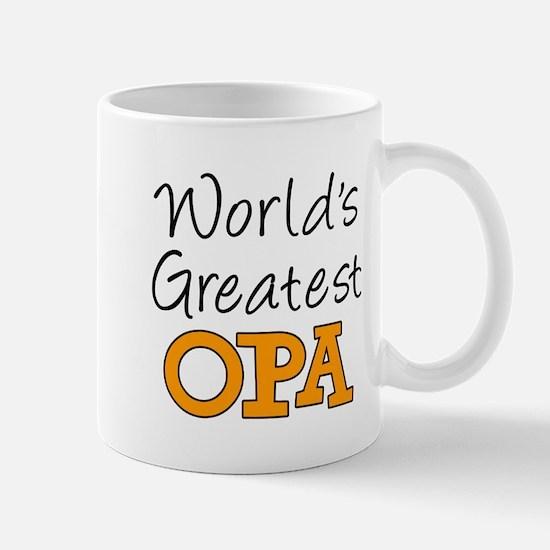 Worlds Greatest Opa Mugs