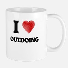 I Love Outdoing Mugs