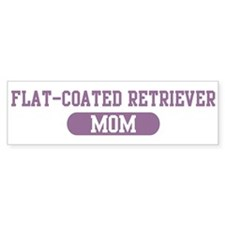 Flat-Coated Retriever Mom Bumper Bumper Sticker