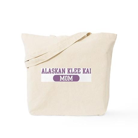 Alaskan Klee Kai Mom Tote Bag
