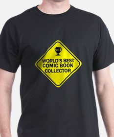 Collector Comic Books T-Shirt