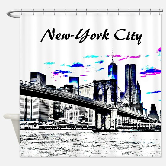Design 26 New-York City Shower Curtain