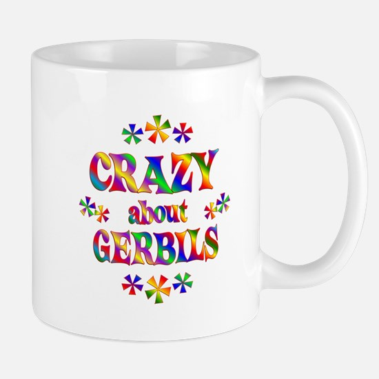 Crazy About Gerbils Mug