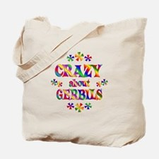 Crazy About Gerbils Tote Bag