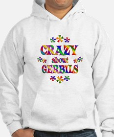 Crazy About Gerbils Hoodie