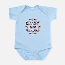 Crazy About Gerbils Infant Bodysuit
