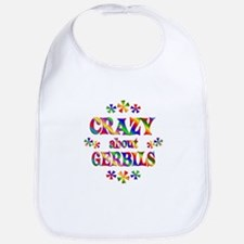 Crazy About Gerbils Bib