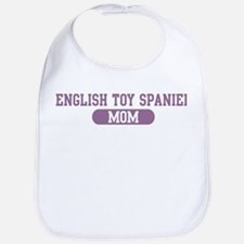 English Toy Spaniel Mom Bib