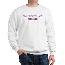 English Toy Spaniel Mom Sweatshirt