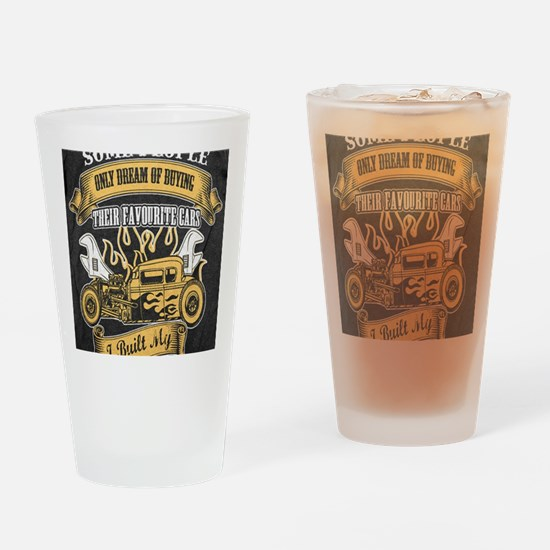 Cool Classic Drinking Glass