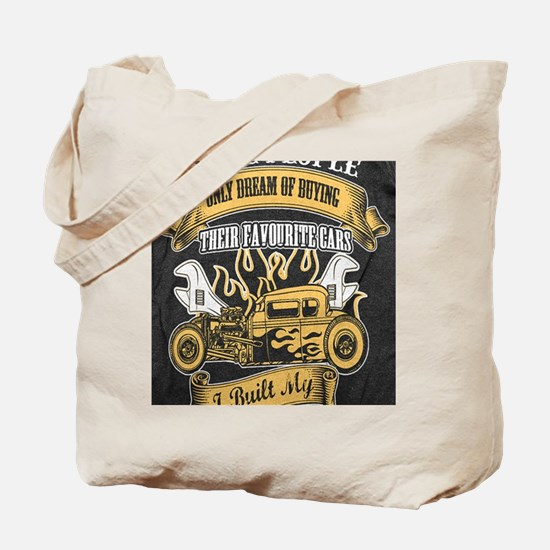 Unique Hot rod Tote Bag