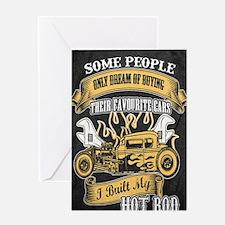 Funny Classic car Greeting Card