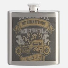 Unique Hot rod Flask