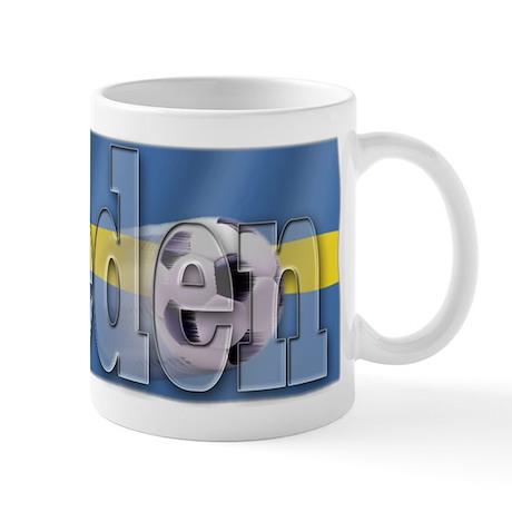 Soccer Flag Sweden Mug