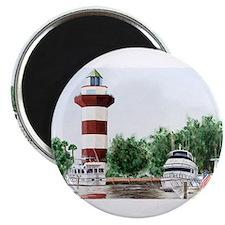 harbor town light long Magnets