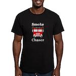 Smoke Chaser Men's Fitted T-Shirt (dark)
