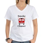 Smoke Chaser Women's V-Neck T-Shirt