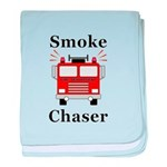 Smoke Chaser baby blanket
