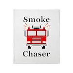 Smoke Chaser Throw Blanket