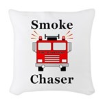 Smoke Chaser Woven Throw Pillow