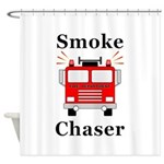 Smoke Chaser Shower Curtain
