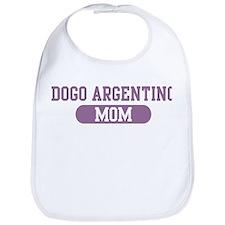 Dogo Argentino Mom Bib