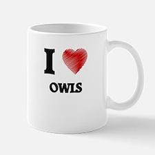 I Love Owls Mugs