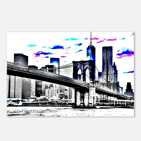 Design 26 New-York City Postcards (Package of 8)