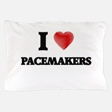 I Love Pacemakers Pillow Case