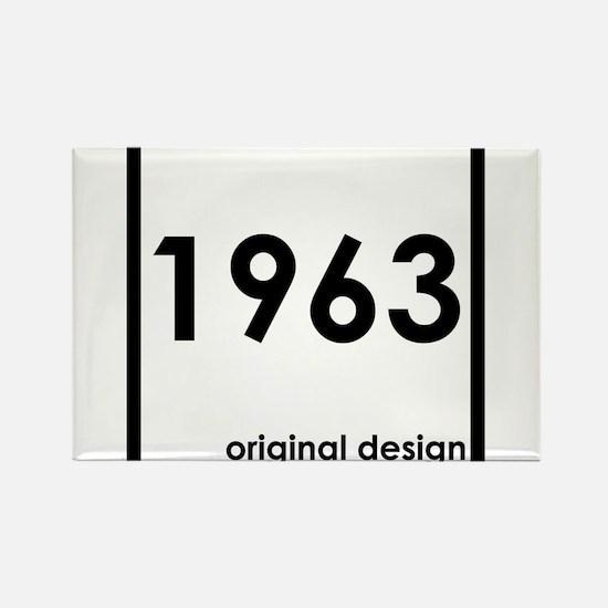 1963 year birthday original design Magnets