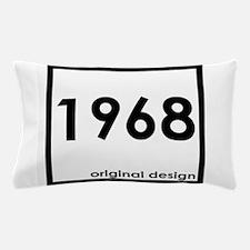 1968 birthday original design year Pillow Case