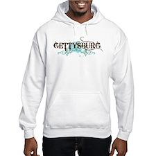 Gettysburg PA grunge Hoodie