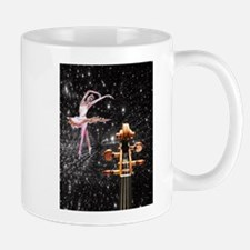 Violin and Ballet Dancer number 1 Mugs