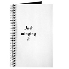 Just winging it Journal
