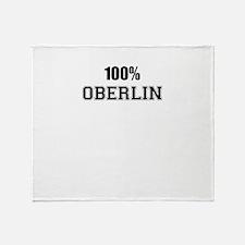 100% OBERLIN Throw Blanket