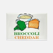 Broccoli Cheddar Soup Rectangle Magnet