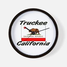 Truckee California Wall Clock