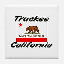 Truckee California Tile Coaster