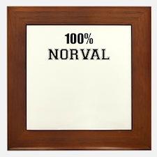 100% NORTON Framed Tile