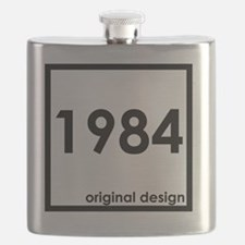 Funny 1984 Flask