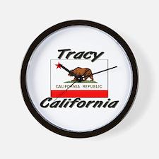 Tracy California Wall Clock
