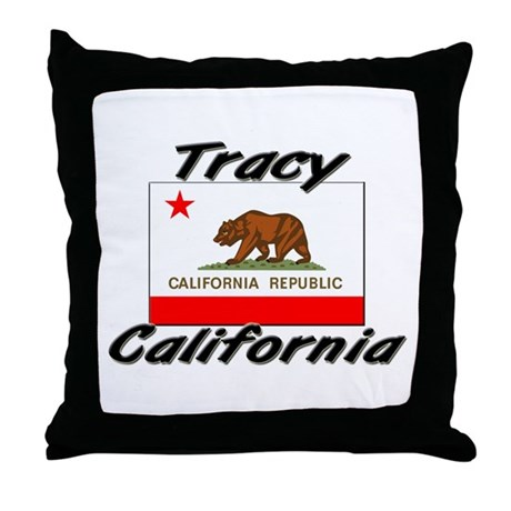 Tracy California Throw Pillow