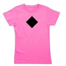 Cute Black diamond Girl's Tee