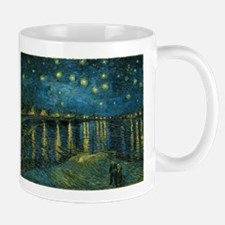 Starry Night over the Rhone Mugs
