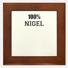 100% NIGEL Framed Tile